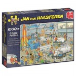 Puzzle  Jumbo-19050 Jan Van Haasteren - Faits Saillants Techniques