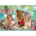 Puzzle  Jumbo-19351 Studio Pets - Happy Birthday