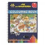 Jumbo-6800 Jan Van Haasteren - Livre de Coloriages - Volume 1