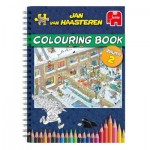 Jumbo-6813 Jan Van Haasteren - Livre de Coloriages - Volume 2