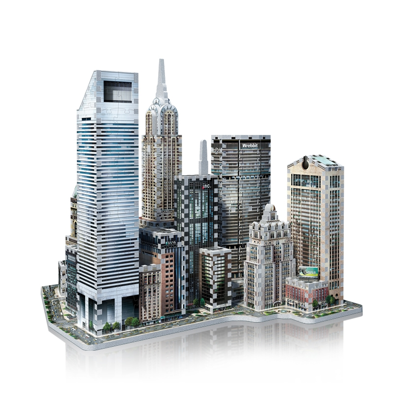 Puzzle 3d New York Collection Midtown East 875 Teile