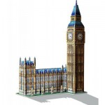 Wrebbit-3D-2002 Puzzle 3D - Londres : Big Ben et Parlement