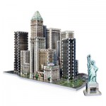 Wrebbit-3D-2013 Puzzle 3D - New York Collection : Financial