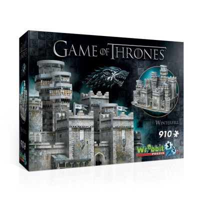 Wrebbit-3D-2018 Puzzle 3D - Game of Thrones - Winterfell