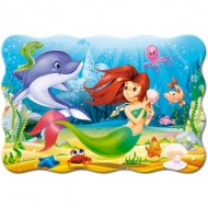 Puzzle  Castorland-02290 Pièces XXL - Little Mermaid