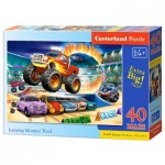 Puzzle  Castorland-040308 Pièces XXL - Jumping Monster Truck