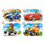 Puzzle  Castorland-043057 Pièces XXL - Ride for Fun