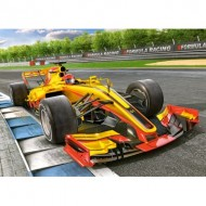 Puzzle  Castorland-066179 Racing Bolide on Track