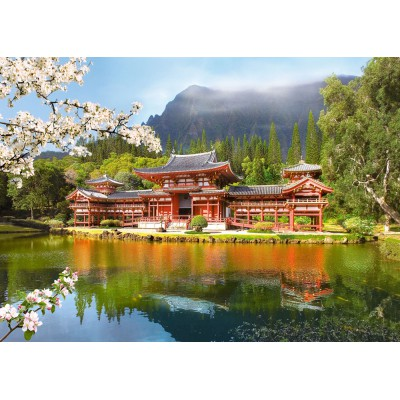 Puzzle Castorland-101726 Vieux temple Byodo-in