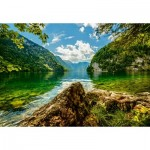 Puzzle  Castorland-151417 Lake Koenigsee in Germany