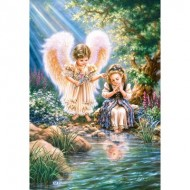 Puzzle  Castorland-151660 Monday's Angel