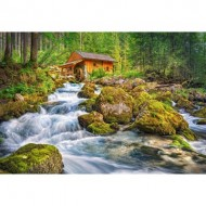 Puzzle  Castorland-151783 Watermill