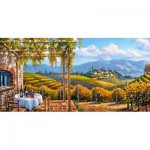 Puzzle  Castorland-400249 Vineyard Village