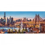 Puzzle  Castorland-400256 Good Evening New York