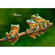Puzzle  Castorland-52301 The Frog Companions