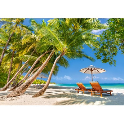 Puzzle Castorland-53100 Leisure in Paradise