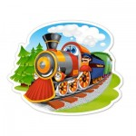 Puzzle  Castorland-B-015153 Steam Train