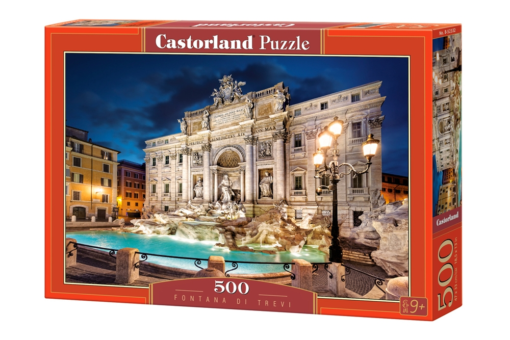 fontana di trevi 500 teile castorland puzzle acheter en ligne. Black Bedroom Furniture Sets. Home Design Ideas