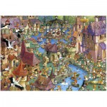 Puzzle  Heye-29496 Ruyer : Bunnytown