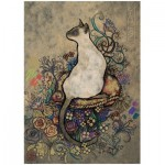 Puzzle  Heye-29610 Jane Crowther : Siamois