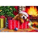 Puzzle  Gibsons-G1114 Pièces XXL - Christmas Snooze