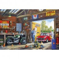 Puzzle  Gibsons-G2215 Pièces XXL - Daddy's Little Helper