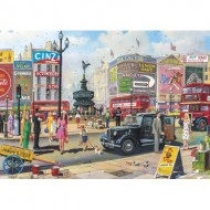 Puzzle  Gibsons-G2716 Pièces XXL - Piccadilly
