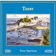 Puzzle  Gibsons-G3038 Tenby, Pays de Galles