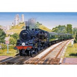 Puzzle  Gibsons-G3115 Corfe Castle Crossing