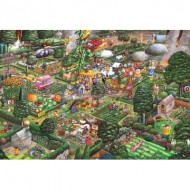 Puzzle  Gibsons-G3421 Mike Jupp - I Love Gardening
