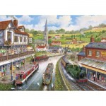 Puzzle  Gibsons-G3528 Pièces XXL - Ye Old Mill Tavern