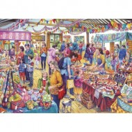 Puzzle  Gibsons-G3541 Pièces XXL - Village Tombola