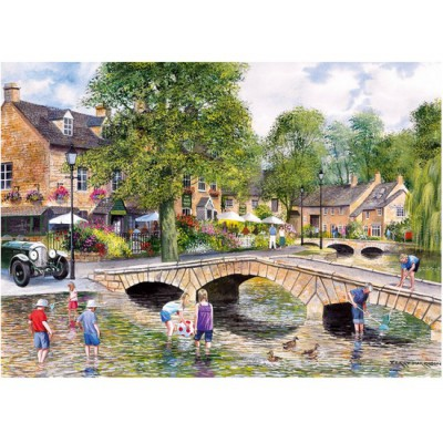 Puzzle Gibsons-G6072 Bourton-on-the-Water, Gloucestershire