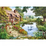 Puzzle  Gibsons-G6086 Cottage paisible