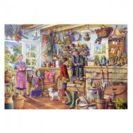 Puzzle  Gibsons-G6173 Tony Ryan : The Fishing Shed
