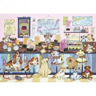 Puzzle  Gibsons-G6233 Woofit's Sweet Shop