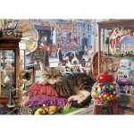 Puzzle  Gibsons-G6303 Abbey's Antique Shop