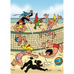 Puzzle  PuzzelMan-074 Jommeke : Beach Volley