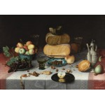 Puzzle  PuzzelMan-389 Collection Rijksmuseum Amsterdam - Floris van Dyck - Nature morte fromage
