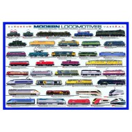 Puzzle  Eurographics-6000-0091 Locomotives modernes