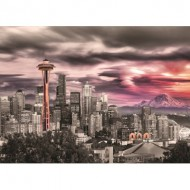 Puzzle  Eurographics-6000-0660 Seattle - Space Needle