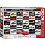 Puzzle  Eurographics-6000-0683 Corvette Evolution