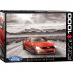 Puzzle  Eurographics-6000-0702 2015 Ford Mustang GT Fifty Years of Power