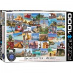 Puzzle  Eurographics-6000-0767 Globetrotter Mexico