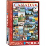 Puzzle  Eurographics-6000-0778 Travel Canada Vintage Posters