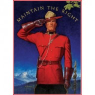 Puzzle  Eurographics-6000-0972 Royal Canadian Mounted Police - Maintain the Right
