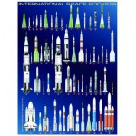 Puzzle  Eurographics-6000-1015 Navettes spatiales internationaux
