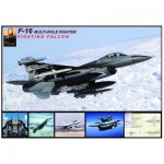 Puzzle  Eurographics-6000-4956 F-16 Fighting Falcon