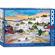 Puzzle  Eurographics-6000-5334 Patricia Bourque - T'is the Season
