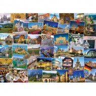 Puzzle  Eurographics-6000-5465 Globetrotter Allemagne